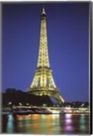 Paris At Night Wall Poster