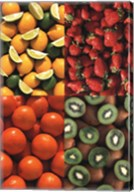 Fruits the Colours of Nature Wall Poster