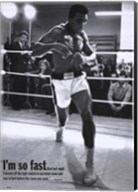 Mohammed Ali Training Fine-Art Print
