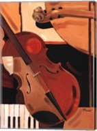 Abstract Violin Fine-Art Print