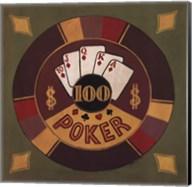 Poker - $100 Fine-Art Print