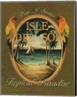 Isle Del Sol - Mini Fine-Art Print