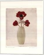 Red Anemones IV Fine-Art Print