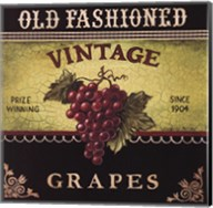 Vintage Grapes Fine-Art Print