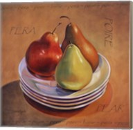Three Pears Fine-Art Print