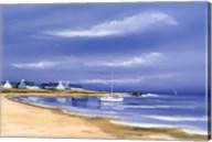 Hameau Au Bord De La Baie Fine-Art Print