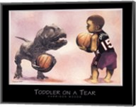 Toddler on a Tear Fine-Art Print