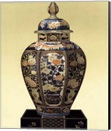 Oriental Blue Vase II Fine-Art Print