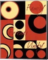 Circle of Friends III Fine-Art Print