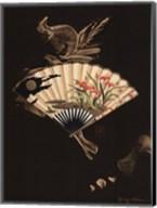 Oriental Fan I Fine-Art Print