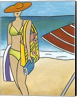 Beach Blanket Baby I Fine-Art Print