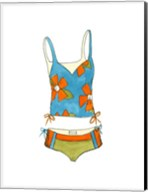 Beach Bikini II (PT) Fine-Art Print