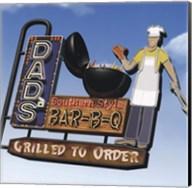 Dad's Southern Style Bar-B-Q Fine-Art Print
