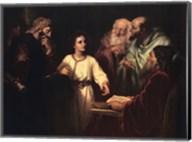 Christ in the Temple Fine-Art Print