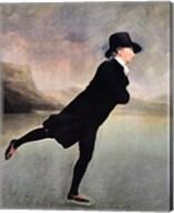 Reverend Walker Skating Fine-Art Print
