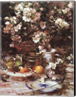 Azaleas and Oranges, 1987 Fine-Art Print