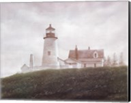 Fog at Pemaquid Fine-Art Print