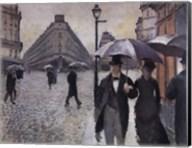 Paris, a Rainy Day, 1877 Fine-Art Print