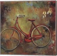 My Old Red Bike Fine-Art Print