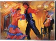 La Pareja del Flamenco Fine-Art Print