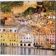 Malcesine on Lake Garda, c.1913 Fine-Art Print