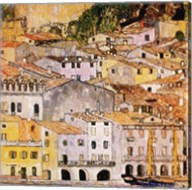 Malcesine on Lake Garda, c.1913 Fine-Art Print