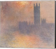 London Houses of Parliament Fine-Art Print