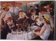 Luncheon of the Boating Party, c.1881 Fine-Art Print