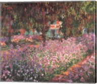 The Artist's Garden at Giverny, c.1900 (detail) Fine-Art Print