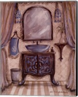 Charming Bathroom III Fine-Art Print