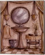 Charming Bathroom IV Fine-Art Print