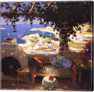 Bodrum Leyla's Terrace Fine-Art Print