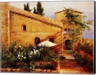 Tuscan Courtyard Fine-Art Print