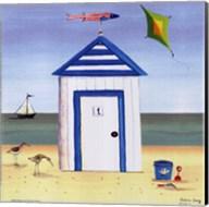 Beach House I Fine-Art Print