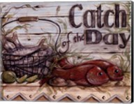 Fisherman's Catch III Fine-Art Print