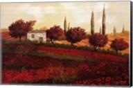 Apapaveri Toscana II Fine-Art Print