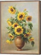 Sunflowers In Bronze II Fine-Art Print