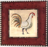 Mosaic Rooster No.2 Fine-Art Print