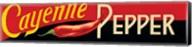 Cayenne Pepper Fine-Art Print