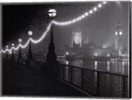 River Thames by Night Fine-Art Print