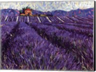 Lavender Fields I Fine-Art Print