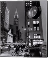 Chrysler Clock, Madison Avenue Fine-Art Print