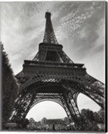 La Tour Eiffel, Paris - under Fine-Art Print