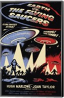 Earth Vs the Flying Saucers Fine-Art Print