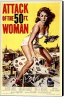 Attack of the 50 Foot Woman Fine-Art Print
