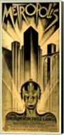 Metropolis Gold Fine-Art Print