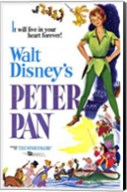 Peter Pan it will live in your heart forever Wall Poster