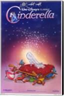 Cinderella Glass Slipper Wall Poster