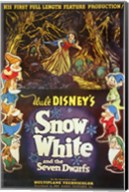 Walt Disney's Snow White and the Seven Dwarfs Wall Poster