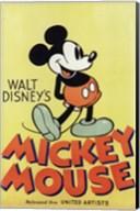 Walt Disney's Mickey Mouse Fine-Art Print